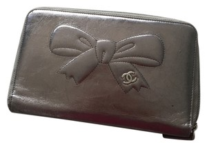 Chanel CHANEL Leather CC Bow Wallet