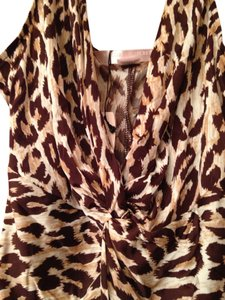 Victoria's Secret V-cut Top Leopard