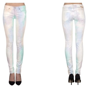 Thvm Clothing White Skinny Jeans