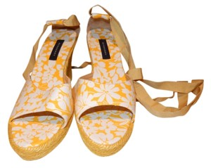 Burberry Yellow Wedges