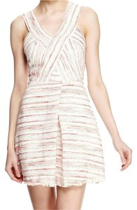 W118 by Walter Baker Tweed Cut-out Shimmer Dress