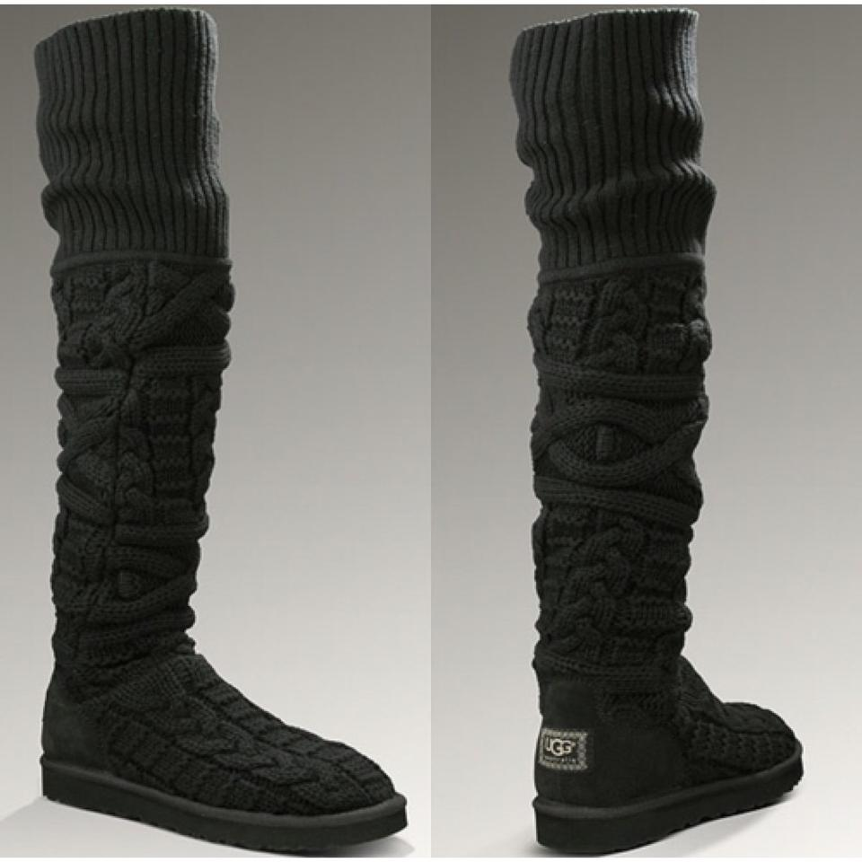 9ce9fa0ae29 UGG Australia Over The Knee Twisted Cable Knit New Boots/Booties Size US 10  Regular (M, B) 57% off retail