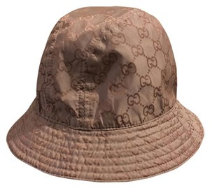 Gucci Gucci brown Guccissima monogram print bucket hat M