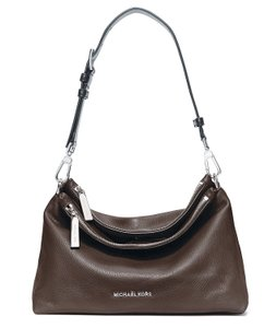 Michael Kors Jane Large Leather Crossbody Hobo 889154512160 Shoulder Bag
