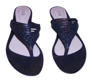 Bloch Loretta Shimmer Quality Comfortable Woven Vamp Design Black Sandals