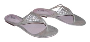 Bloch Loretta Shimmer Quality Comfortable Woven Vamp Design Champagne Sandals