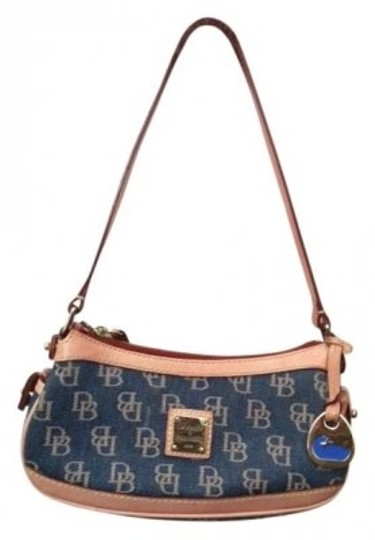 Preload https://item3.tradesy.com/images/dooney-and-bourke-pink-and-jean-cloth-shoulder-bag-12862-0-0.jpg?width=440&height=440