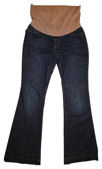 Item - Blue Stretchy Faded Paneled Maternity Denim Size 0 (XS, 25)