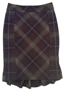 Express Skirt Grey plaid