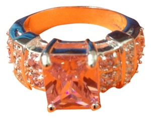 Other Pink And White Topaz Ring