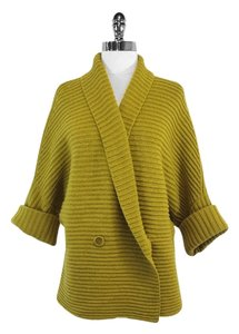 Max Mara Green Wool Cashmere Knitted Sweater