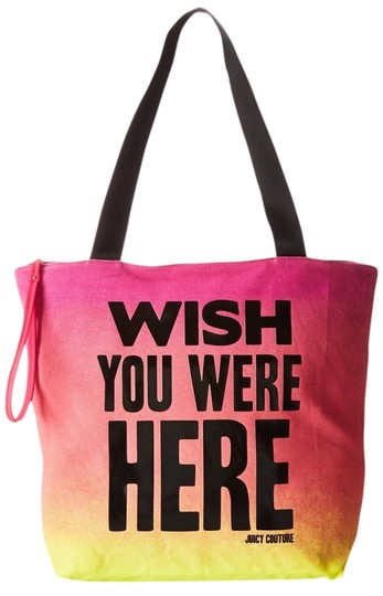 Juicy Couture Pink Multi Travel Bag