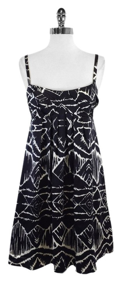 Step out in style at your next formal celebration in this black and white tribal-print prom dress. The long sleeveless formal dress made from a jersey and spandex blend is an easy-to-wear dress that moves with you and will be ready to wear time and again/5(24).