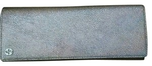 Gucci Salmon Broadway Iridescent Clutch