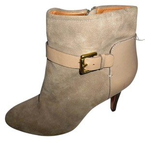 Coach Bootie Pumps Taupe suede Boots