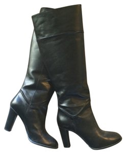 Enzo Angiolini Leather Knee-high Modern Black Boots