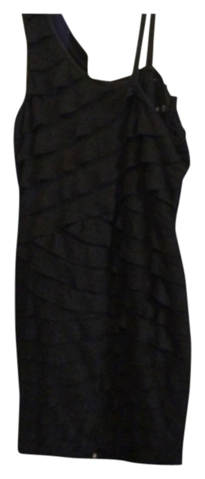Lord Taylor Black Above Knee Cocktail Dress Size 6 S Tradesy
