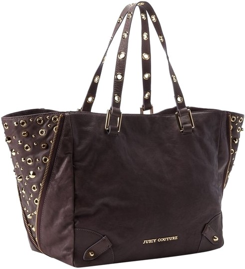 Juicy Couture Tote in Dusty Rose (Plum)