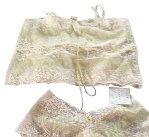 Eberjey Top Cream and green