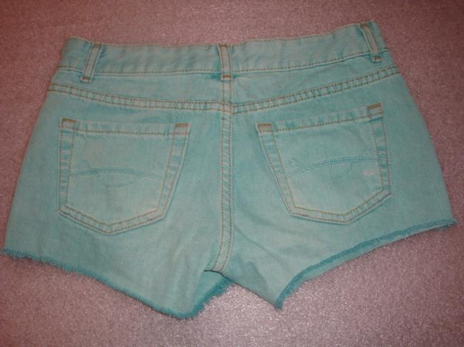 Mossimo Supply Co. Mint Denim Size 1 New Cut Off Shorts green