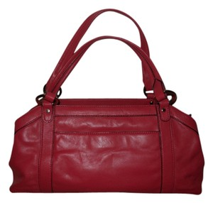 Talbots Leather Satchel in rose