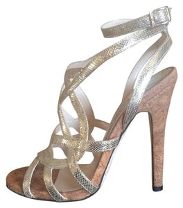 Jimmy Choo Champagne/pale gold Formal