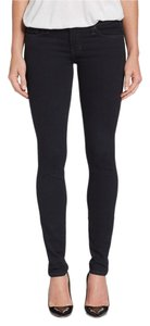 Elizabeth and James Chic Night Out Drinks Dark Wash Stretchy Skinny Jeans-Dark Rinse