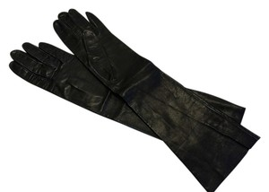 1960's Lambskin Opera-Length Gloves by SATIN KIDD; Size 6/SML [ Roxanne Anjou Closet ]