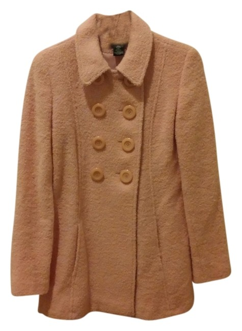Arden B. Classic Pretty Doublebreasted Vintage Wool Pea Coat