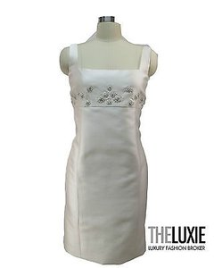 Badgley Mischka Couture Wool Dress