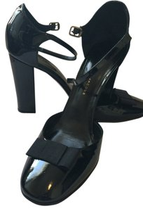 Marc Jacobs Mary Jane Bow Black Pumps