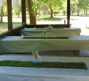 Made To Order.. 10 Moss Runners 4feet. By 8 Inches..- Table Wedding Arch Aisle Preserved Country Rustic Outdoor Indoor