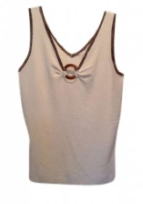 Preload https://item5.tradesy.com/images/white-house-black-market-cream-name-with-brown-trim-tank-topcami-size-8-m-128674-0-0.jpg?width=400&height=650