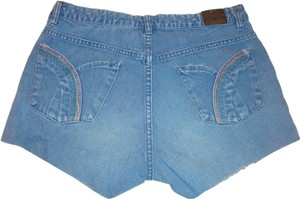 levi silvertab Rainbow Pockets Denim Cut Off Shorts vintage