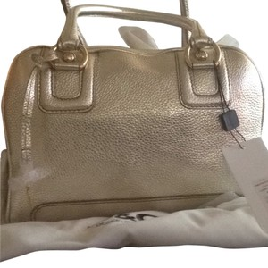 Dolce&Gabbana Satchel in Gold Silver