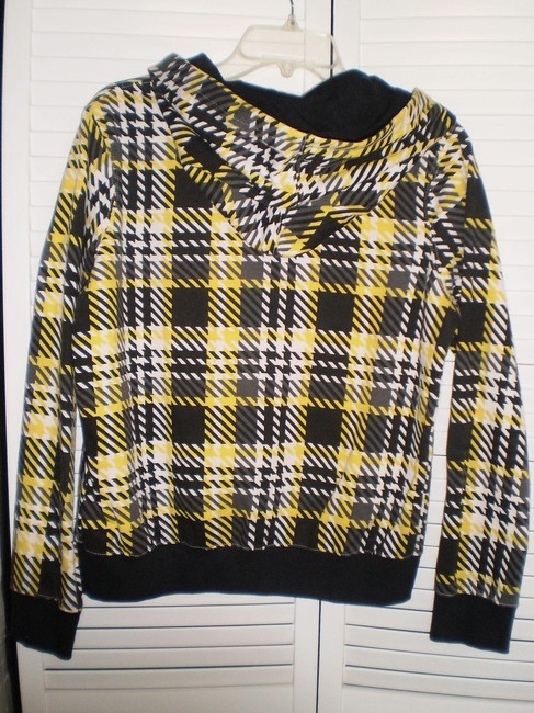 Hurley Black & Yellow Plaid Jacket