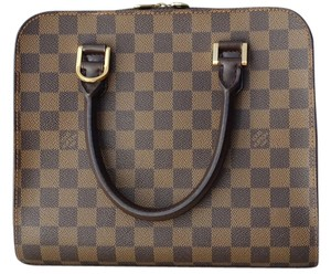 Louis Vuitton Lv Triana Damier Satchel in Damier Ebene