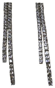 Kay Jewelers Solid 18k 18kt Yellow Gold - Diamond Drop Dangle Earrings - 1 ct total diamond weight.