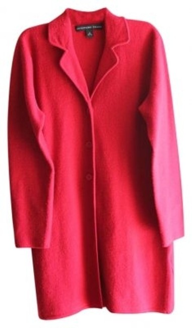 Preload https://item2.tradesy.com/images/josephine-chaus-red-full-length-trench-coat-size-10-m-128701-0-0.jpg?width=400&height=650