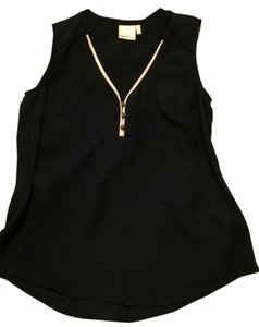 Kaya di Koko V-neck Sleeveless Top Navy