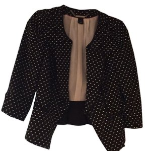White House | Black Market Polka dot Blazer