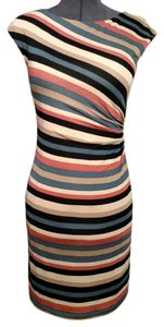Ann Taylor LOFT short dress multi Spring Summer Striped on Tradesy
