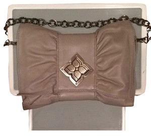 BCBGMAXAZRIA Gray Clutch