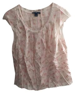 The Gap Light Pink Sleeveless Blouse Top Pink
