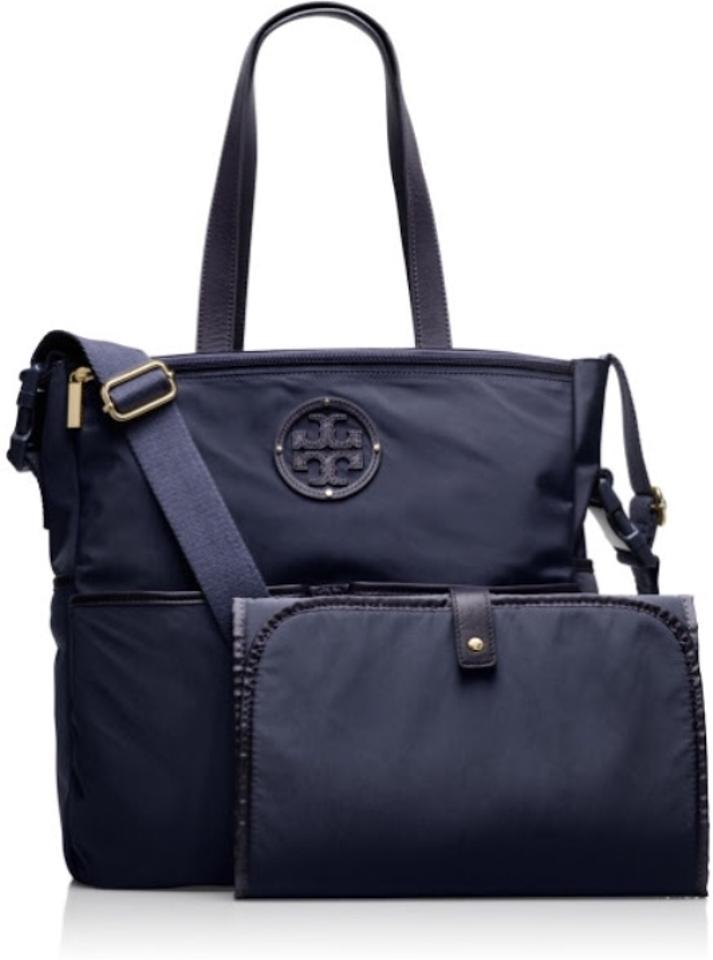 Tory Burch Stacked Logo Billy Baby Bag Normandy Blue 28