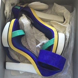 Brian Atwood Yellow, Royal, Platforms