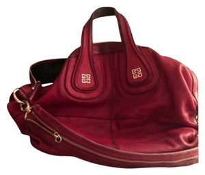 Givenchy Satchel in Medium Red