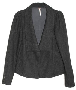 Free People Gray Blazer