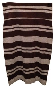 James Perse Skirt Brown, gray