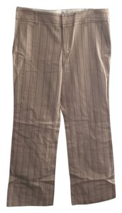 Old Navy Pin Striped Tan pants Top